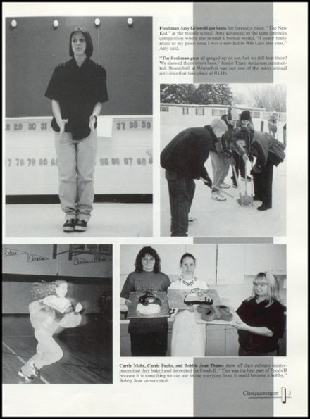 1998 Rib Lake High School Yearbook Page 7