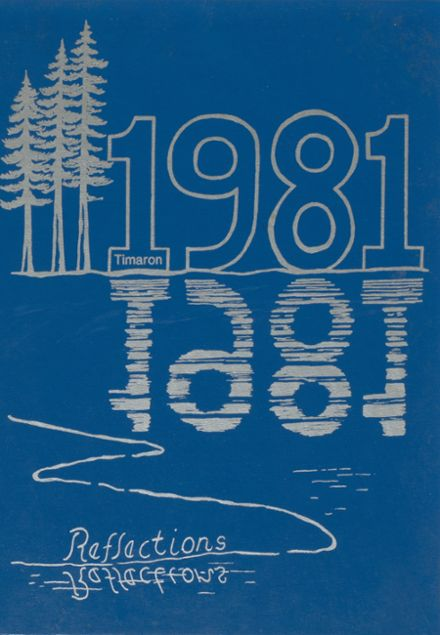 1981 Middleborough High School Yearbook Cover