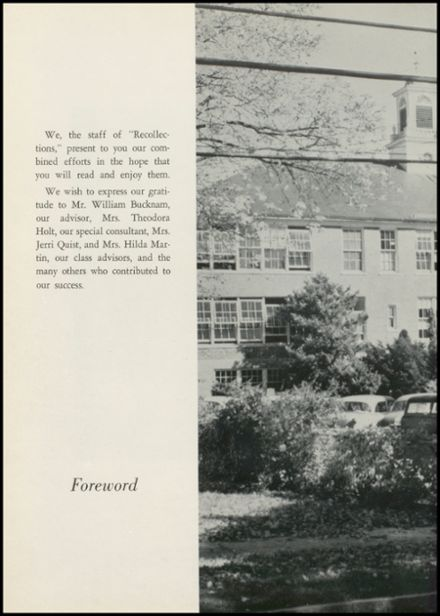 1958 New Milford High School Yearbook Page 8