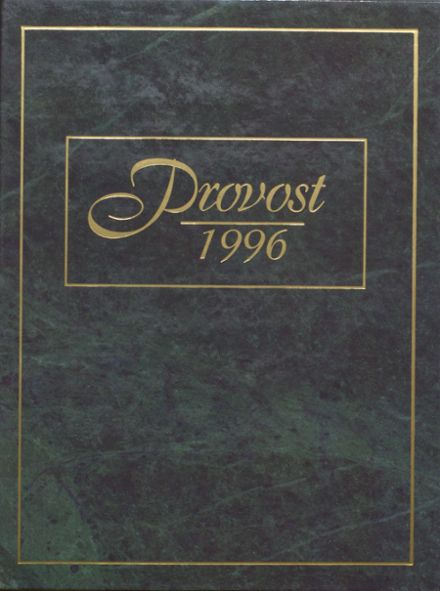 1996 Provo High School Yearbook Cover