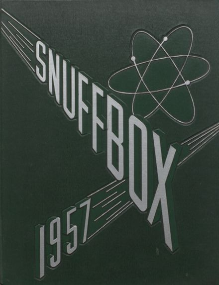 1957 Southold High School Yearbook Cover