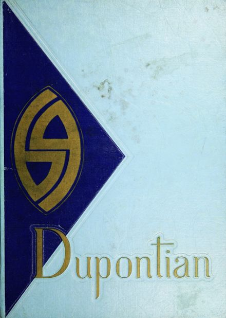 1969 Dupont High School Yearbook Cover