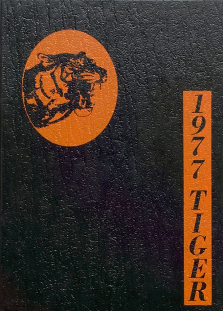 1977 Parkin High School Yearbook Cover