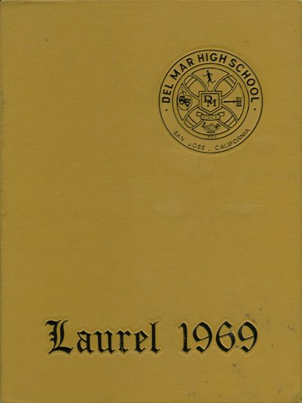 1969 Del Mar High School Yearbook Cover