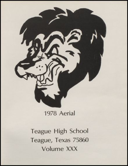 1978 Teague High School Yearbook Page 5