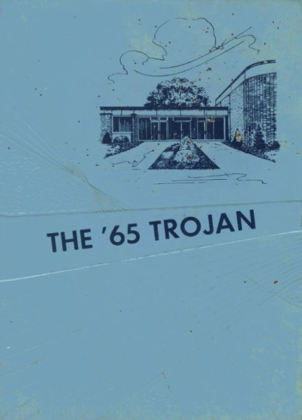 1965 Fruitport High School Yearbook Cover
