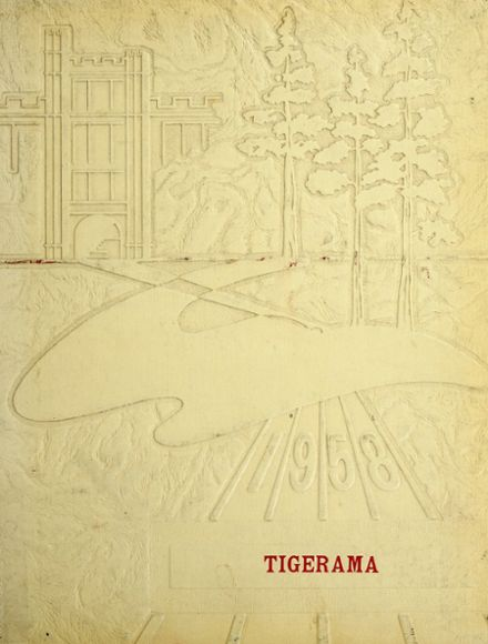 1958 Fishers High School Yearbook Cover