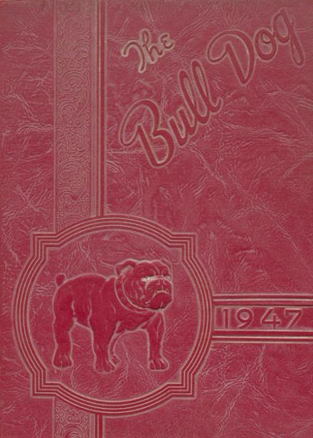 1947 Clayton High School Yearbook Cover