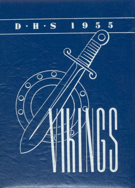 1955 Dundee High School Yearbook Cover