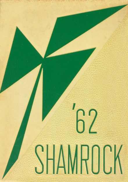 1962 St. Patrick Academy Yearbook Cover