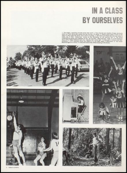 1983 Eureka High School Yearbook Page 6
