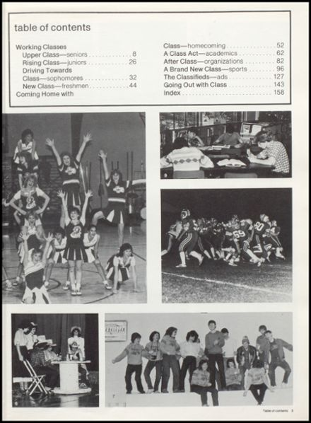 1983 Eureka High School Yearbook Page 7
