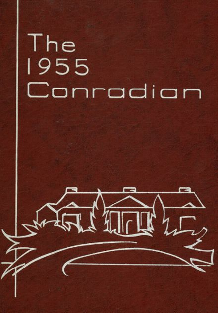 1955 Conrad High School Yearbook Cover