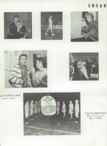 1964 Naches Valley High School Yearbook Page 6