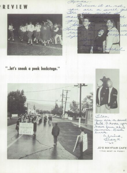 1964 Naches Valley High School Yearbook Page 7