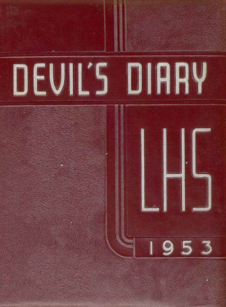 1953 Lakeview High School Yearbook Cover