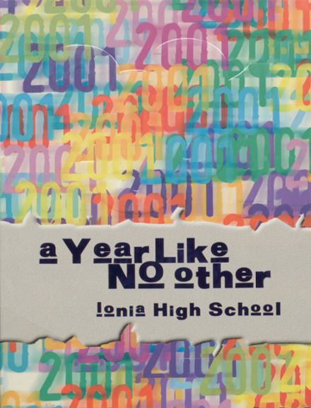 2001 Ionia High School Yearbook Cover