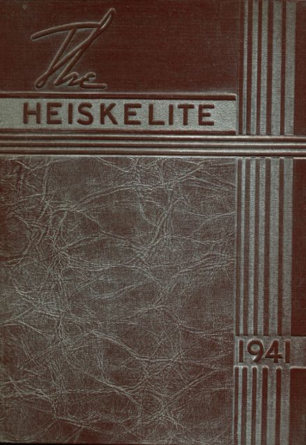 1941 Hagerstown High School Yearbook Cover