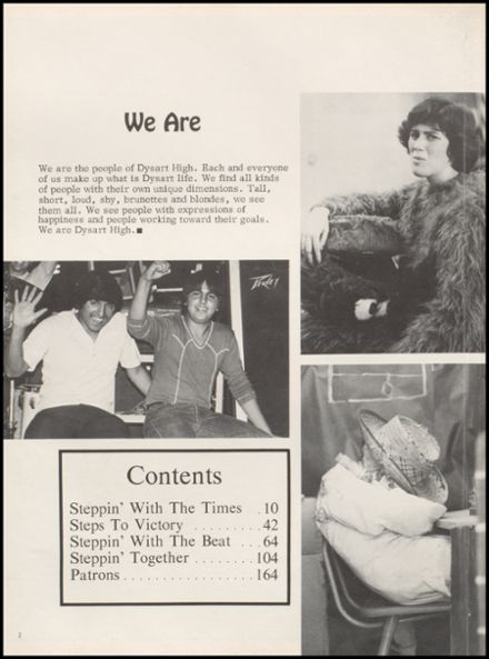 1979 Dysart High School Yearbook Page 6