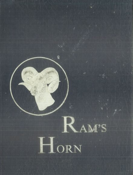1968 Ramsay High School Yearbook Cover