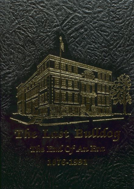 1991 Maysville High School Yearbook Cover