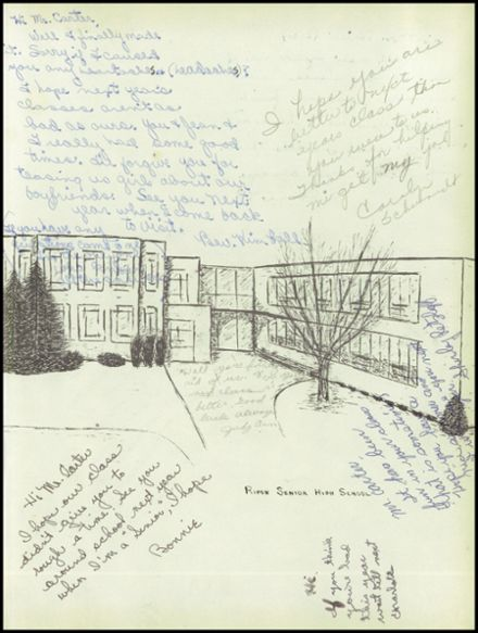 1958 Ripon High School Yearbook Page 3