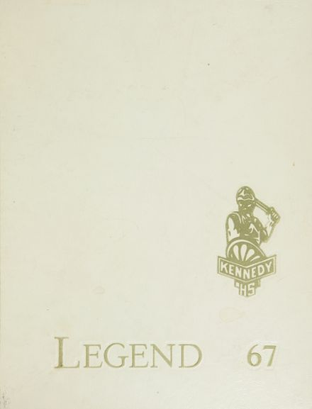 1967 Kennedy High School Yearbook Cover