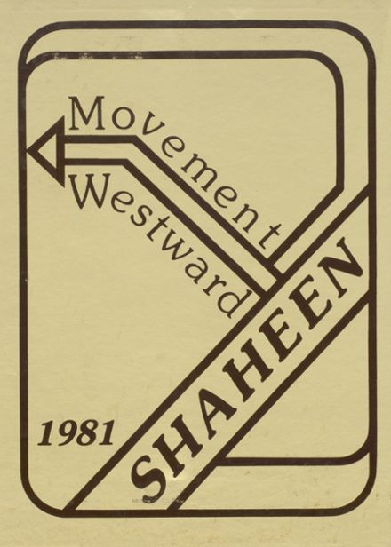 1981 West High School Yearbook Cover