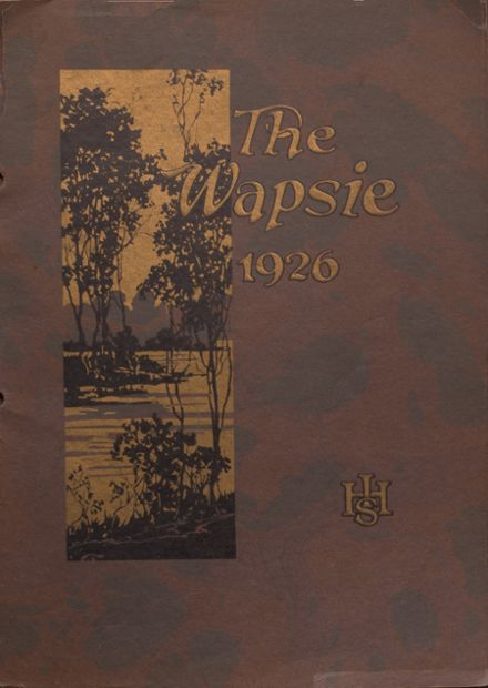 1926 Independence Christian High School Yearbook Cover