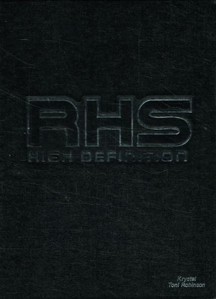 2001 Richardson High School Yearbook Cover