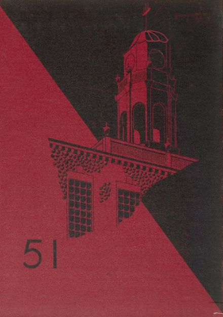 1951 Phillips Exeter Academy Yearbook Cover
