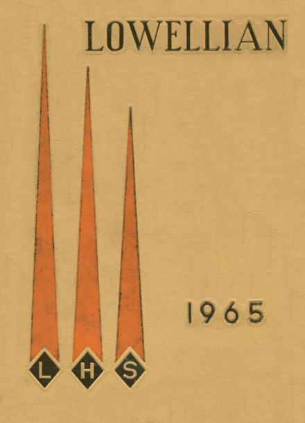 1965 Lowell High School Yearbook Cover