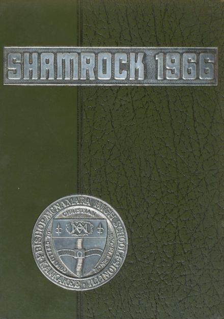 1966 Bishop McNamara High School Yearbook Cover