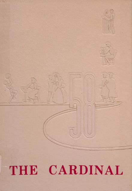 1958 Dollarway High School Yearbook Cover