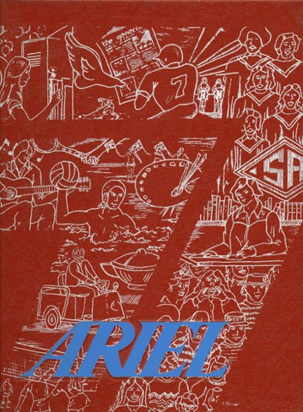 1977 Santa Ana High School Yearbook Cover