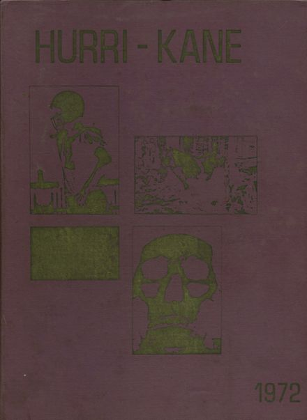 1972 Kane High School Yearbook Cover