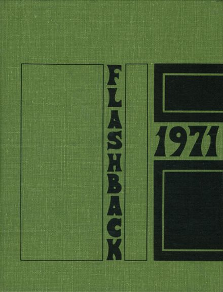 1971 Franklin Central High School Yearbook Cover
