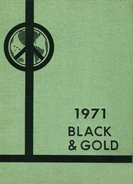 1971 Fremont High School Yearbook Cover
