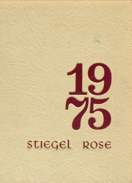 1975 Manheim Central High School Yearbook Cover