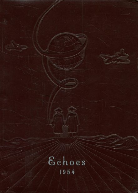 1954 Unionville-Sebewaing High School Yearbook Cover