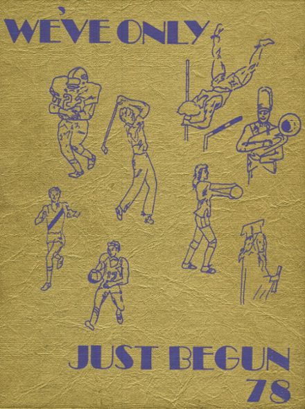 1978 Holdrege High School Yearbook Cover
