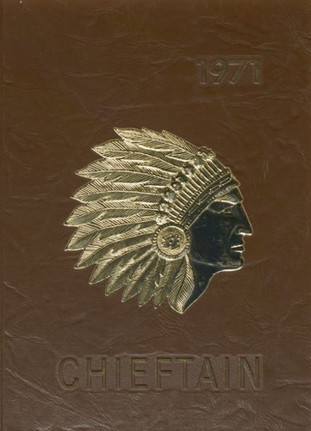 1971 Indian River High School Yearbook Cover