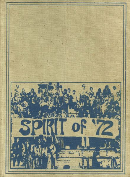 1972 Friendly High School Yearbook Cover