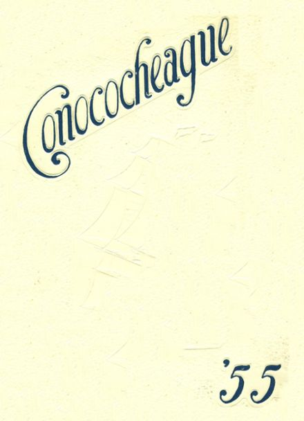 1955 Greencastle-Antrim High School Yearbook Cover