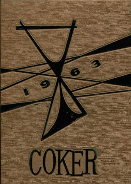 1963 Connellsville High School Yearbook Cover