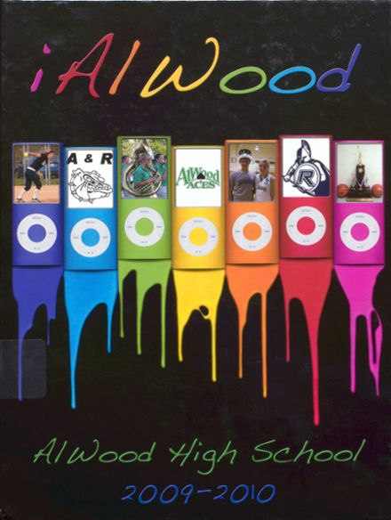 2010 Alwood High School Yearbook Cover