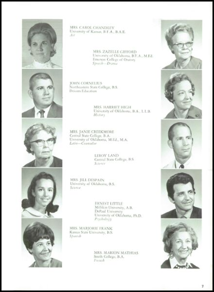 1970 Heritage Hall High School Yearbook Page 9