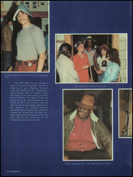 1982 Rahway High School Yearbook Page 8