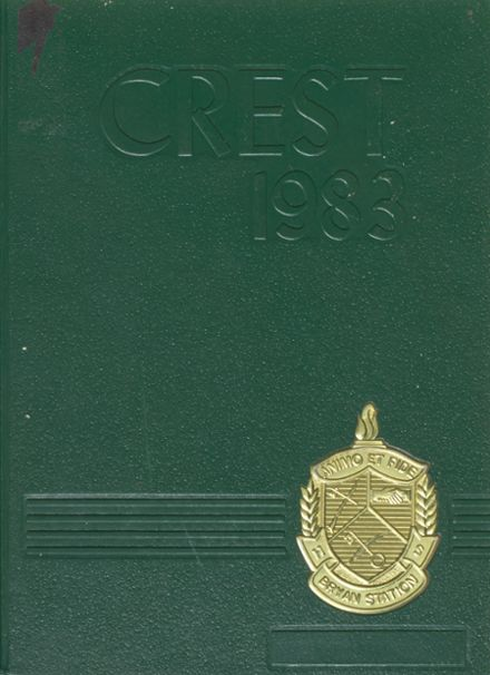 1983 Bryan Station High School Yearbook Cover