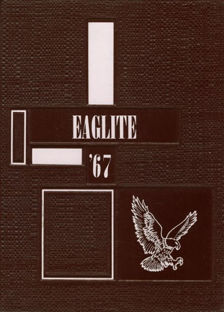 1967 Frankton High School Yearbook Cover